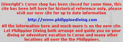 Shop closed - go to Philippine Diving